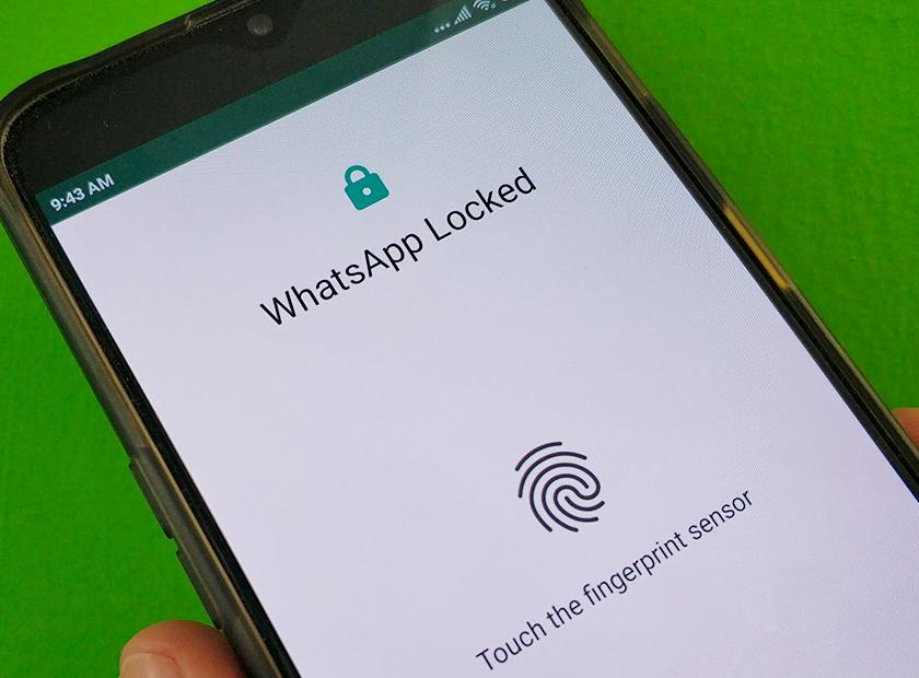 Fitur Fingerprint WhatsApp di Android